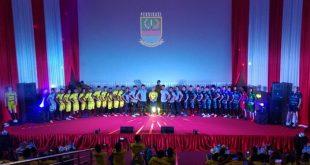 Launching skuad Persikasi di Gedung Teater Pariwisata, Komplek Stadion Wibawa Mukti. FOTO: Istimewa/ Fakta Bekasi.