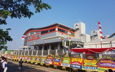 Stasiun Metland Telaga Murni Cibitung. FOTO: Istimewa/ Humas Pemkab Bekasi.